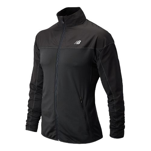 Mens New Balance Raptor Running Jackets - Black S