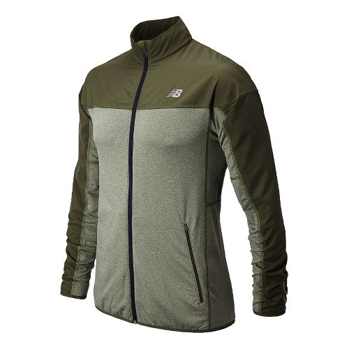 Mens New Balance Raptor Running Jackets - Combat S