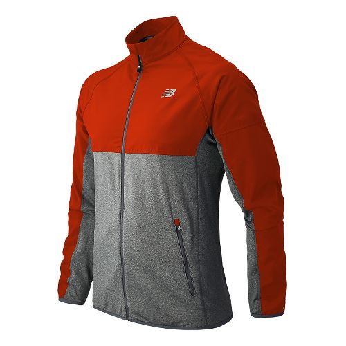 Mens New Balance Raptor Running Jackets - Fire Ball M