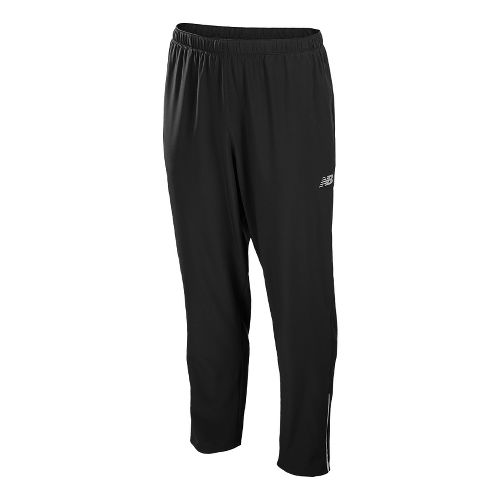 Mens New Balance Raptor Stretch Woven Full Length Pants - Black L