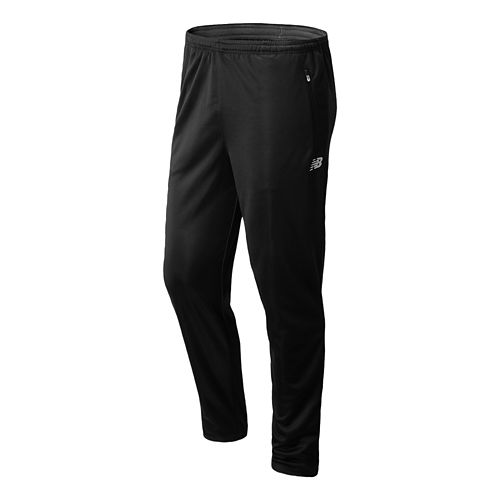 Mens New Balance Gazelle Knit Full Length Pants - Black XL