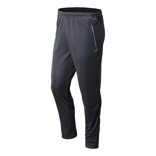 Mens New Balance Gazelle Knit Full Length Pants - Lead S