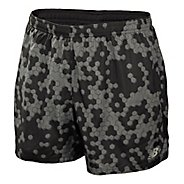 Mens New Balance 5 Go 2 Graphic Lined Shorts