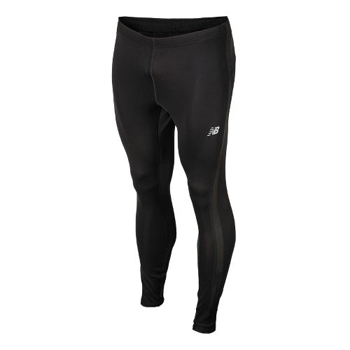 Mens New Balance Go 2 Fitted Tights - Black XL