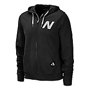 Mens New Balance Essentials Zip Up Hoodie Warm-Up Hooded Jackets