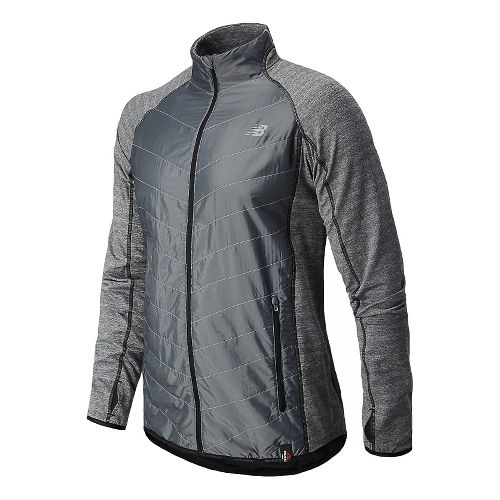 Mens New Balance Boylston Chameleon Running Jackets - Black L