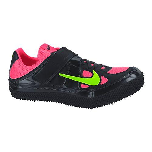 Mens Nike Zoom HJ III Track and Field Shoe - Black/Hyper 4.5