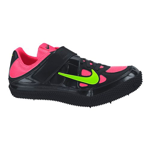 Mens Nike Zoom HJ III Track and Field Shoe - Black/Hyper 6