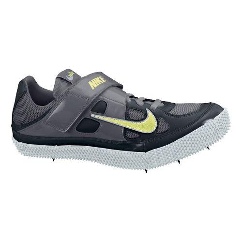 Mens Nike Zoom HJ III Track and Field Shoe - Black/Volt 14