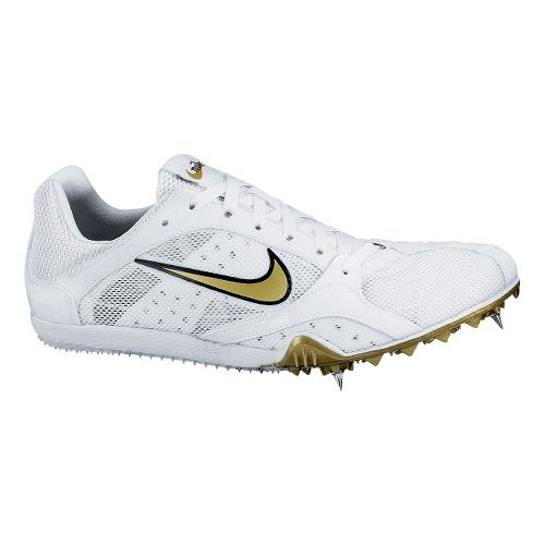 Womens Nike Zoom W 2 Track and Field Shoe - White 5