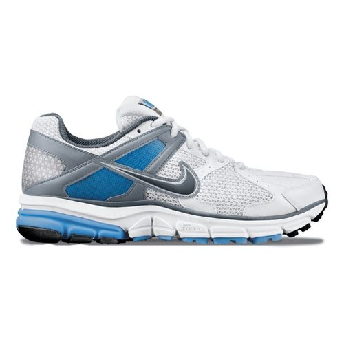Womens Nike Zoom Structure Triax+ 14 Running Shoe - White/Blue 11