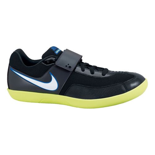 Mens Nike Zoom Rival SD Track and Field Shoe - Black/Lime 12.5
