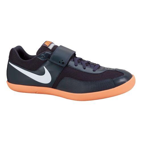 Mens Nike Zoom Rival SD Track and Field Shoe - Black/Orange 7.5