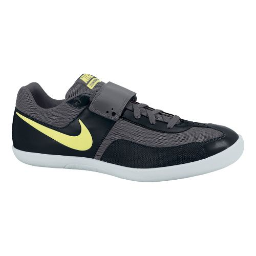 Mens Nike Zoom Rival SD Track and Field Shoe - Black/Volt 4.5