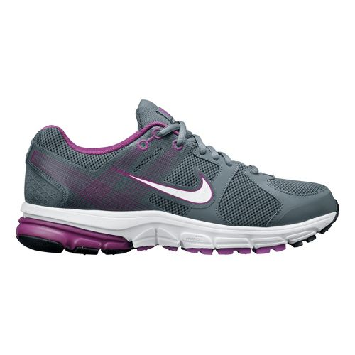 Womens Nike Zoom Structure+ 15 Running Shoe - Grey/Berry 6.5