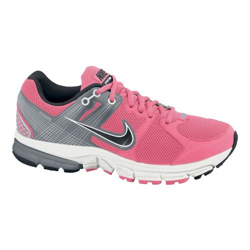 Womens Nike Zoom Structure+ 15 Running Shoe - Hot Pink/Grey 9