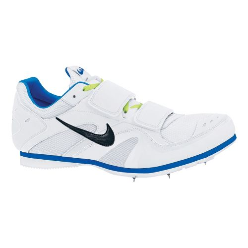 Nike Zoom TJ 3 Track and Field Shoe - White/Royal 4.5