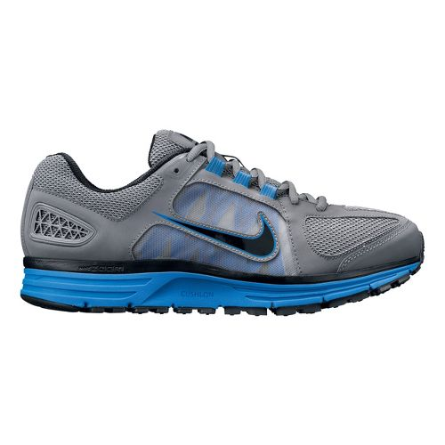 Mens Nike Zoom Vomero+ 7 Running Shoe - Charcoal/Blue 10