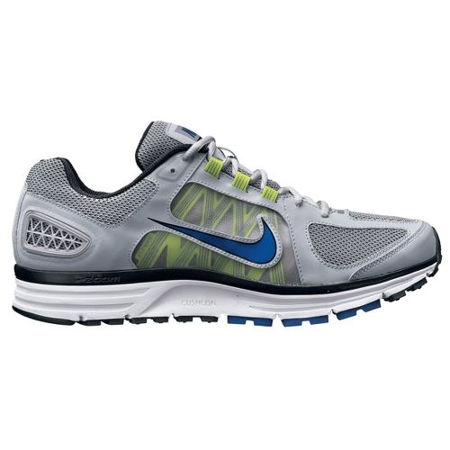 Mens Nike Zoom Vomero+ 7 Running Shoe - Grey/Blue 11.5