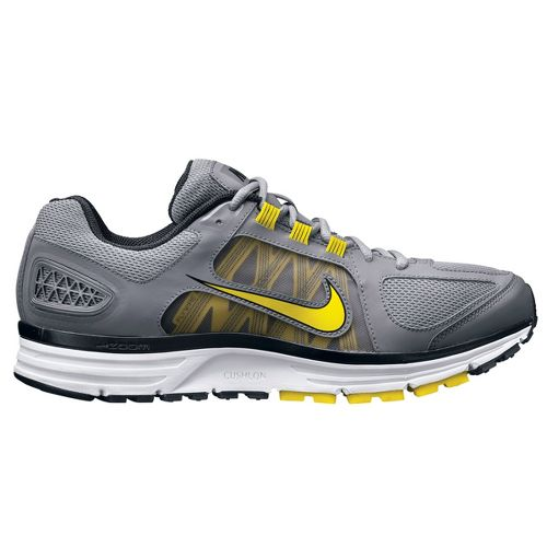 Mens Nike Zoom Vomero+ 7 Running Shoe - Grey/Yellow 12.5