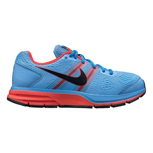 Womens Nike Air Pegasus+ 29 Running Shoe - Blue/Bright Crimson 9