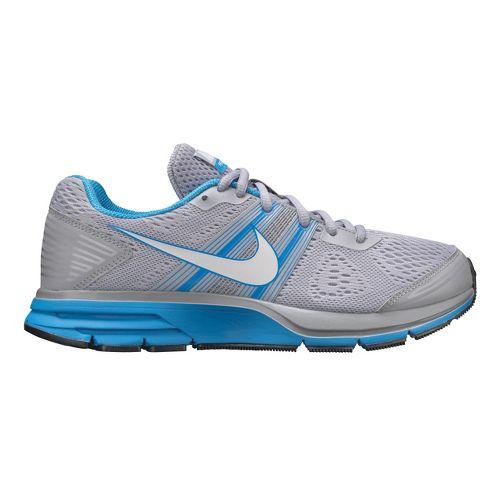 Womens Nike Air Pegasus+ 29 Running Shoe - Grey/Blue 11