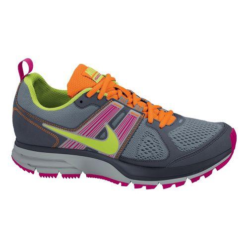 Womens Nike Air Pegasus+ 29 Trail Trail Running Shoe - Grey/Berry 9