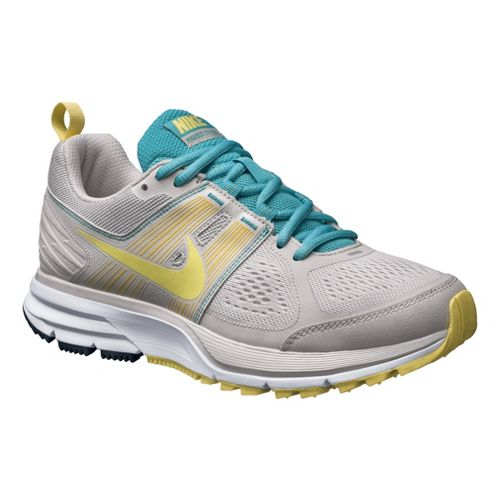 Womens Nike Air Pegasus+ 29 Trail Trail Running Shoe - Grey/Yellow 10.5