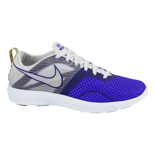Womens Nike LunarMontreal+ Running Shoe - Purple/Grey 10.5
