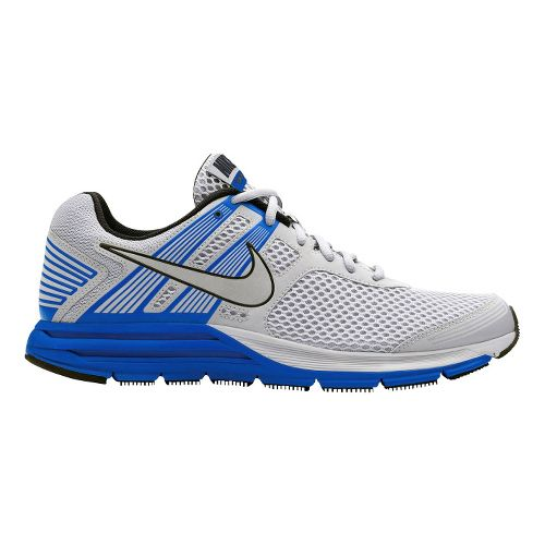 Mens Nike Zoom Structure+ 16 Running Shoe - Grey/Blue 12.5