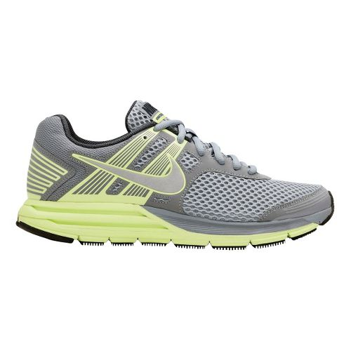 Womens Nike Zoom Structure+ 16 Running Shoe - Grey/Neon 9.5