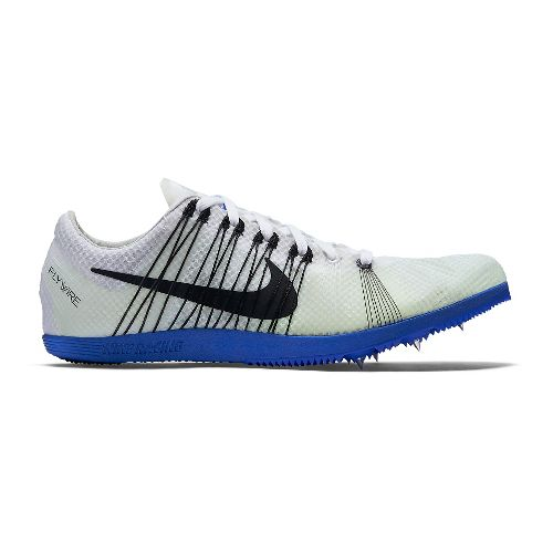 Mens Nike Zoom Matumbo 2 Track and Field Shoe - White/Blue 12.5