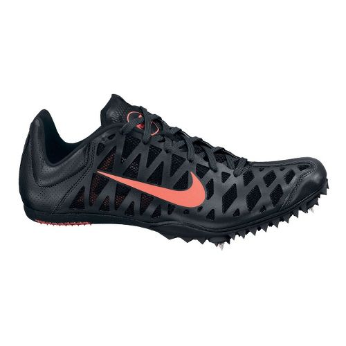 Mens Nike Zoom Maxcat 4 Track and Field Shoe - Black 4.5