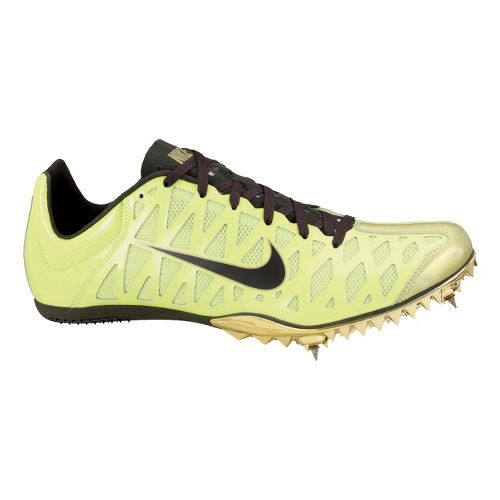 Mens Nike Zoom Maxcat 4 Track and Field Shoe - Volt 4.5