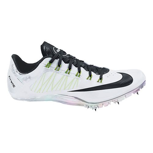 Mens Nike Zoom Superfly R4 Track and Field Shoe - White 11.5