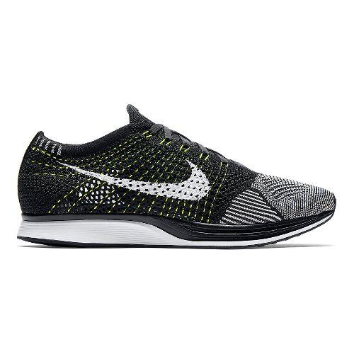 Nike Flyknit Racer Racing Shoe - Black/White/White 11.5