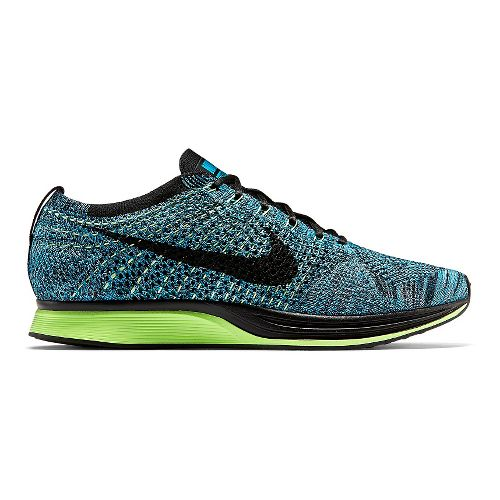 Nike Flyknit Racer Racing Shoe - Blue Lagoon 11