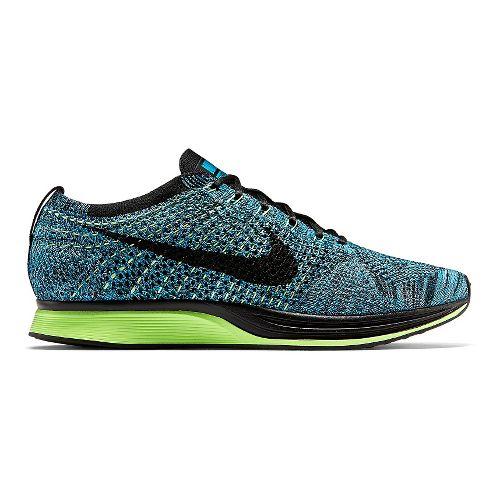 Nike Flyknit Racer Racing Shoe - Blue Lagoon 13