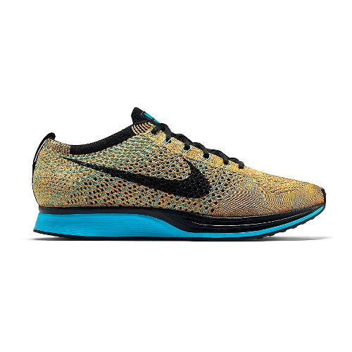 Nike Flyknit Racer Racing Shoe - Bright Citrus 14