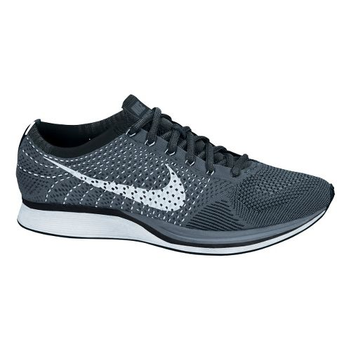 Nike Flyknit Racer Racing Shoe - Black 8