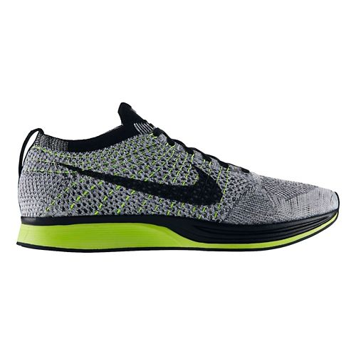 Nike Flyknit Racer Racing Shoe - Black/Volt 14