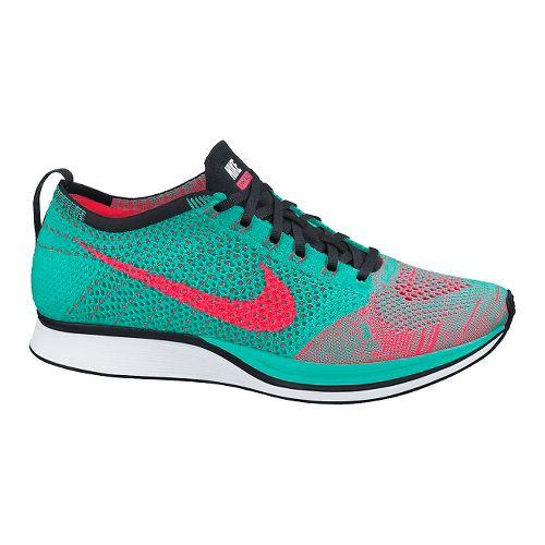 Nike Flyknit Racer Racing Shoe - Jade 7.5