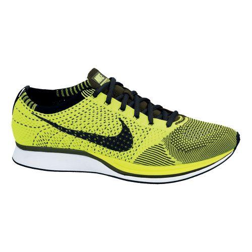 Nike Flyknit Racer Racing Shoe - Volt 11.5