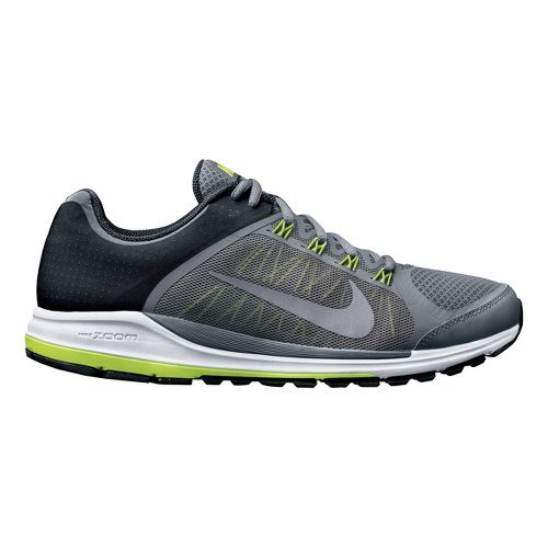 Mens Nike Zoom Elite+ 6 Running Shoe - Charcoal/Volt 12