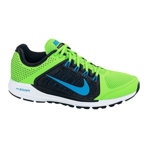 Mens Nike Zoom Elite+ 6 Running Shoe - Lime/Black 14