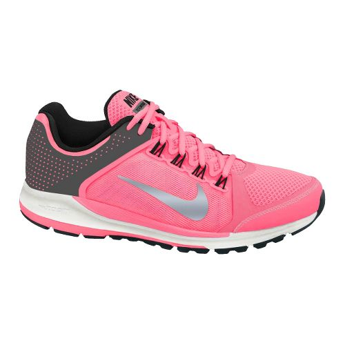 Womens Nike Zoom Elite+ 6 Running Shoe - Grey/Pink 6