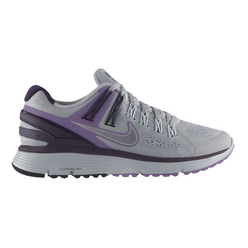 Womens Nike LunarEclipse+ 3 Running Shoe - Grey/Purple 11