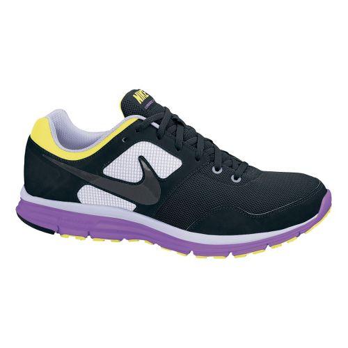 Womens Nike LunarFly+ 4 Running Shoe - Black/Purple 8