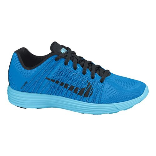 Mens Nike LunaRacer+ 3 Racing Shoe - Blue/Black 11