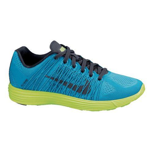 Mens Nike LunaRacer+ 3 Racing Shoe - Blue/Volt 11